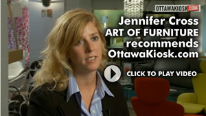 Jennifer Cross at Phillip Van Leeuwen Furniture recommends OttawaKiosk.com