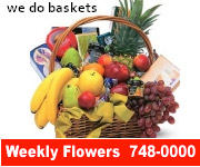 Weekly Flowers - We Do Baskets